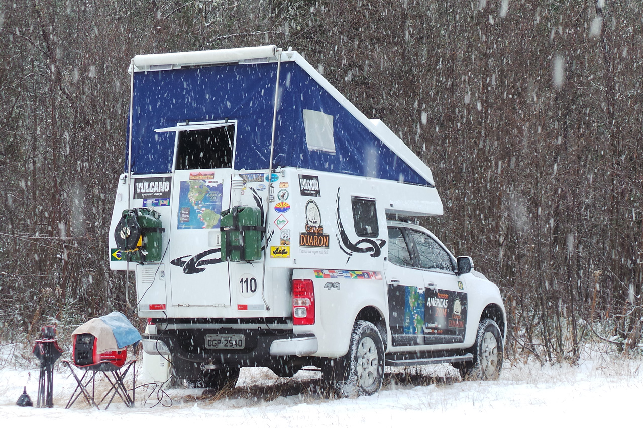 Viajando Nós 4x4 - Na Neve