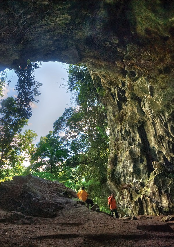 Entrada da Caverna Morro Preto