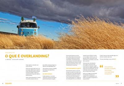 PARA REFLETIR – O Que é Overlanding? (Ed #1 Revista Overlander)