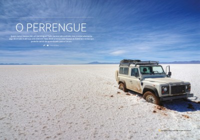 O PERRENGUE – Atolado no Salar (Ed #1 Revista Overlander)