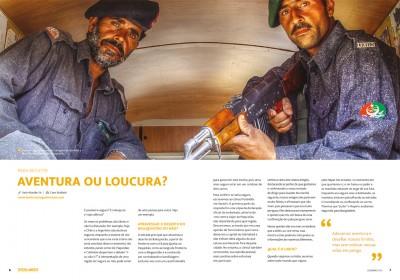 PARA REFLETIR – Aventura ou Loucura? (Ed #2 Revista Overlander)