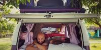 Acordando no Camping Recanto do Sol Brilhante - Prado:BA
