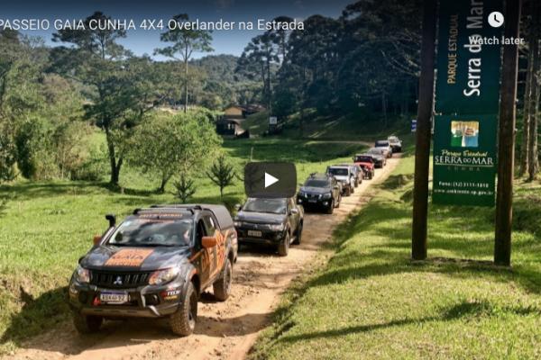 NOVO VÍDEO NO AR – Passeio Gaia Cunha 4×4